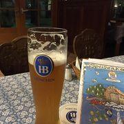 英語メニューあり。ノンアルコールビールもあり下戸でも楽しめます。