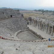 イタリア調査団の手で修復されたトルコ一番の劇場。