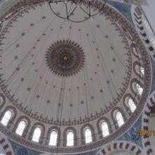 ドームの円形が美しい