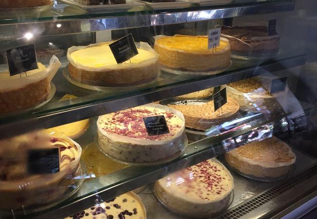 美味しいチーズケーキ!