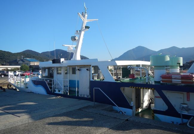 蓋井島航路 下関市 営渡船