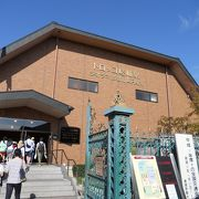 JRの「嵯峨嵐山駅」の隣にあります