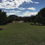 広々して気持ちの良い公園でした。