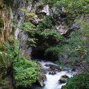 隧通し 冠水渓