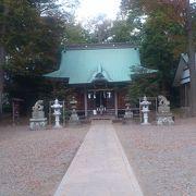 海老名の由緒ある神社