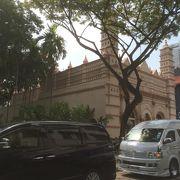 南インドから来た人のイスラム教寺院