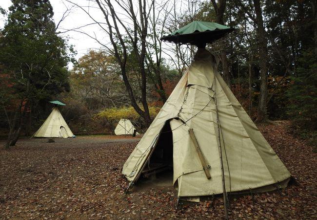 ファミリーにおすすめのお手軽キャンプ場