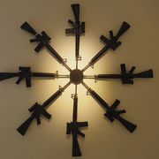 世界中から集められた武器が展示されています