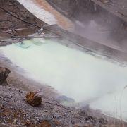 硫黄産地だったことが一目見れば納得できます