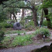 宇奈月温泉街の入り口にある公園です。