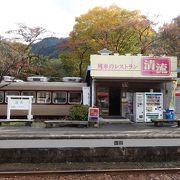 鉄道車両を使用したレストラン