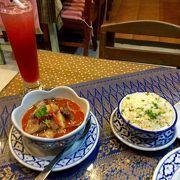 バンコクで念願のマッサマンカレーを食す