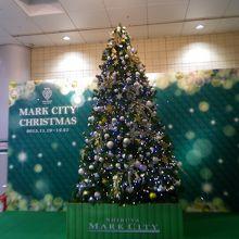 渋谷マークシティ merry mark Xmas イルミネーション