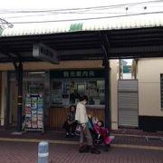 京阪の八幡市駅のすぐそば