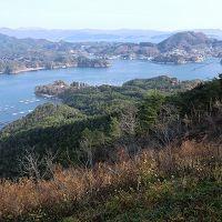 大島のシンボル亀山からの風景
