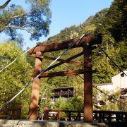 河童橋のたもとにあるムレストラン