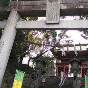 JR熊本駅北側に位置する縁結びの神がまつられている神社