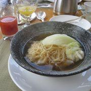 朝食ビュッフェで行きました。
