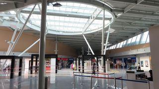 まだまだ小さな、こじんまりとした地方空港
