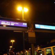 ミュンヘンから普通列車で1時間