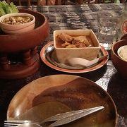 チェンマイ式の料理がいただけます。