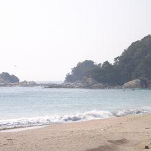 下阿蘇海水浴場で撮影