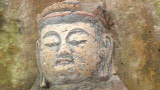 別府地獄・クロスの海・都井岬 (52) 臼杵磨崖仏(うすき まがいぶつ)を見学