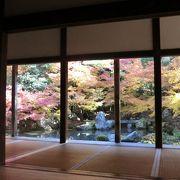 石川丈山作の額縁庭園