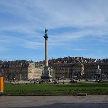 ヨーロッパらしい広場です