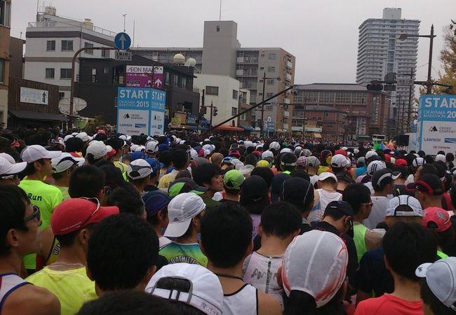 市民ランナーの祭典です。