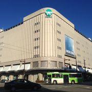 総曲輪フェリオの核店舗。富山市唯一の百貨店