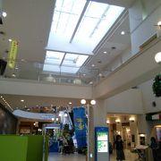 バスセンターのショッピングモール
