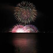 長野県ではトップクラスの花火大会