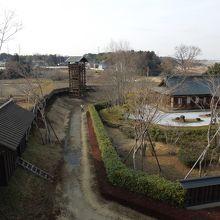 櫓からの眺望