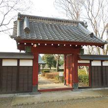 関宿城城門