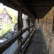 城壁の散歩道
