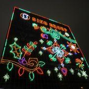 街中がクリスマス