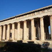 よく保存された神殿