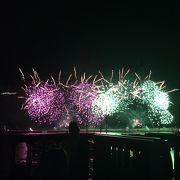 秋の熱海を彩る花火大会