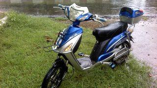 電動バイクが便利