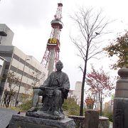 大友亀太郎像でございます