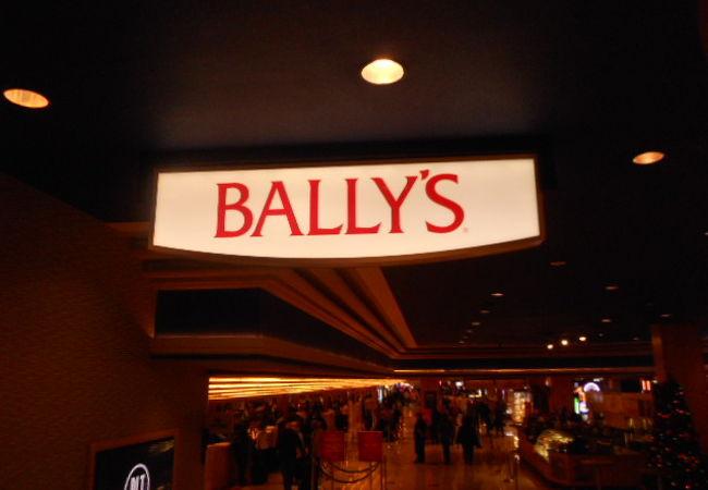 バリーズホテルでのショー