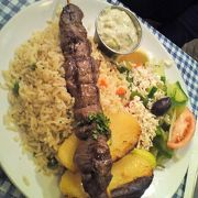 人生初のギリシャ料理。たまにはアリかも。