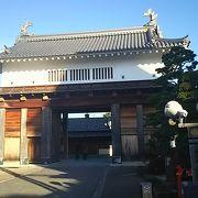 掛川城の表玄関