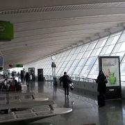 中心地に近い便利な空港