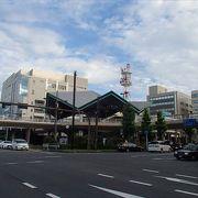 この駅、京阪電気鉄道の駅の一つで、大津港が近くに有って、琵琶湖も見る事のできるそんな駅となっています。