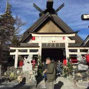 富士山5合目の神社