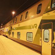 快適な列車旅