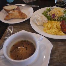 朝ごはん(洋食)