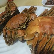 初 上海蟹 大満足でした!